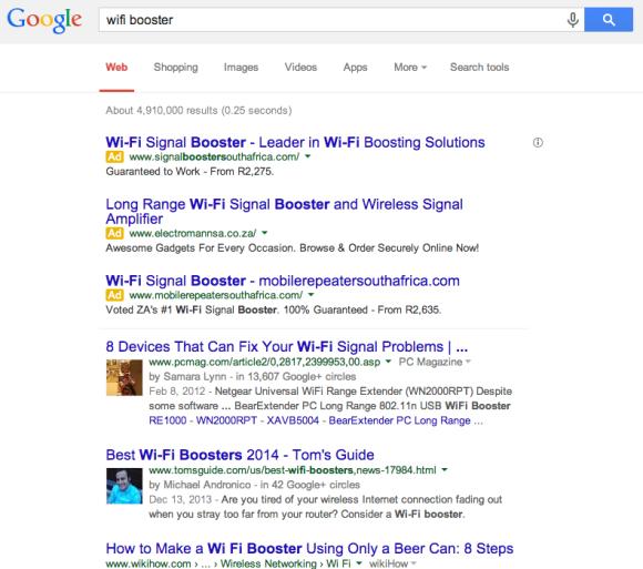 Google Search New